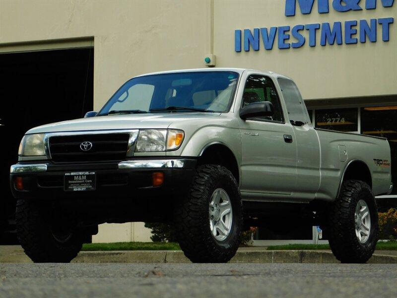 2000 Toyota Tacoma Xcab 4x4 V6 3 4