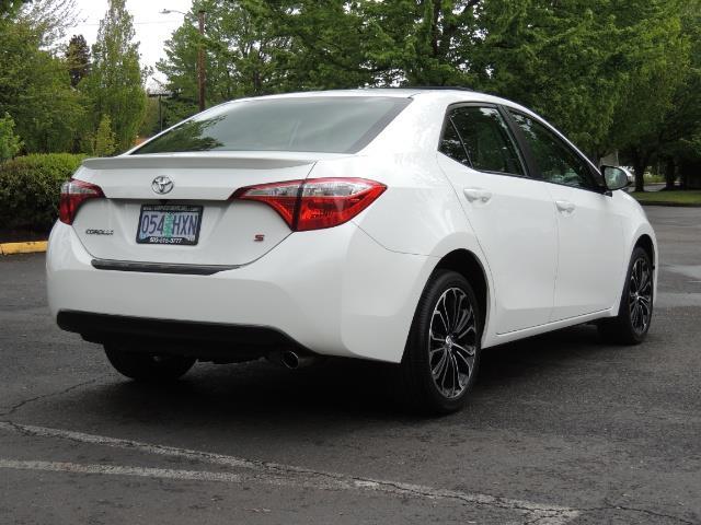 2016 Toyota Corolla S Plus / Sedan / Sunroof / Backup Camera / Spoiler - Photo 8 - Portland, OR 97217