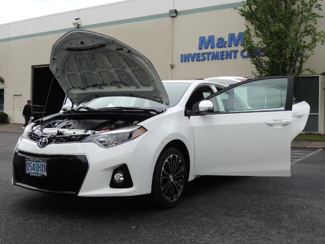 2016 Toyota Corolla S Plus / Sedan / Sunroof / Backup Camera / Spoiler - Photo 25 - Portland, OR 97217