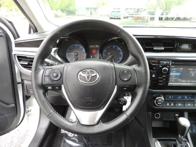 2016 Toyota Corolla S Plus / Sedan / Sunroof / Backup Camera / Spoiler - Photo 39 - Portland, OR 97217
