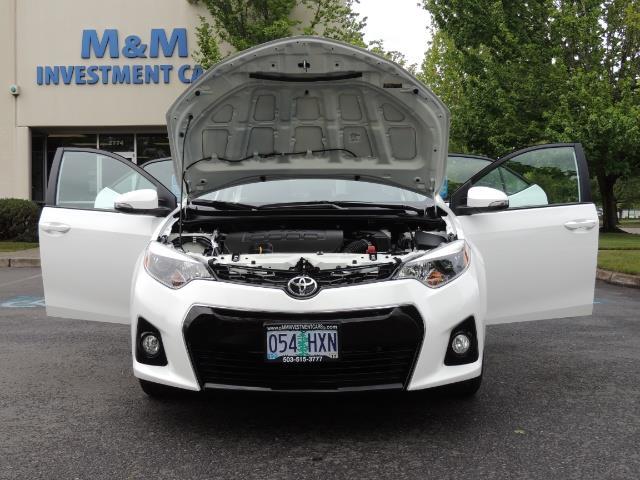 2016 Toyota Corolla S Plus / Sedan / Sunroof / Backup Camera / Spoiler - Photo 33 - Portland, OR 97217
