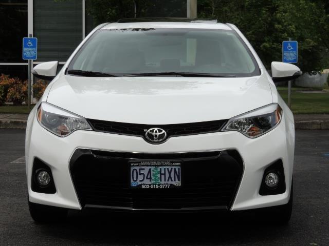 2016 Toyota Corolla S Plus / Sedan / Sunroof / Backup Camera / Spoiler - Photo 5 - Portland, OR 97217