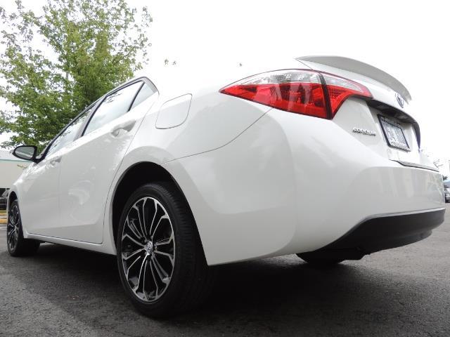 2016 Toyota Corolla S Plus / Sedan / Sunroof / Backup Camera / Spoiler - Photo 11 - Portland, OR 97217