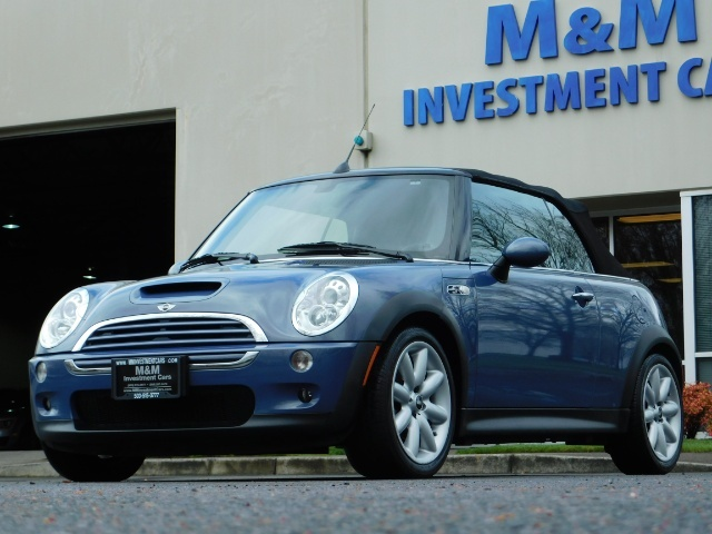 2006 Mini Cooper S Convertible / TURBO / Automatic/ ONLY 61,600 Miles - Photo 1 - Portland, OR 97217