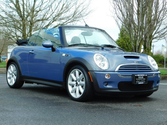 2006 Mini Cooper S Convertible / TURBO / Automatic/ ONLY 61,600 Miles - Photo 2 - Portland, OR 97217