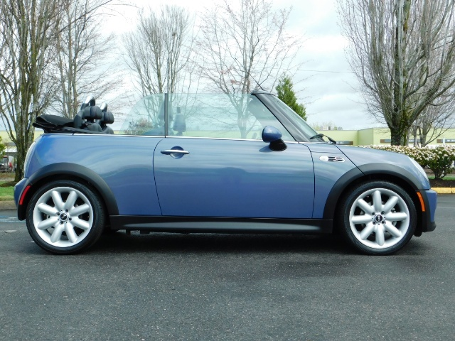 2006 Mini Cooper S Convertible / TURBO / Automatic/ ONLY 61,600 Miles - Photo 4 - Portland, OR 97217