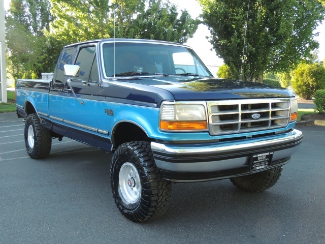 1994 Ford F 150 Xlt 4x4 8cyl Gas 5 Speed Manual