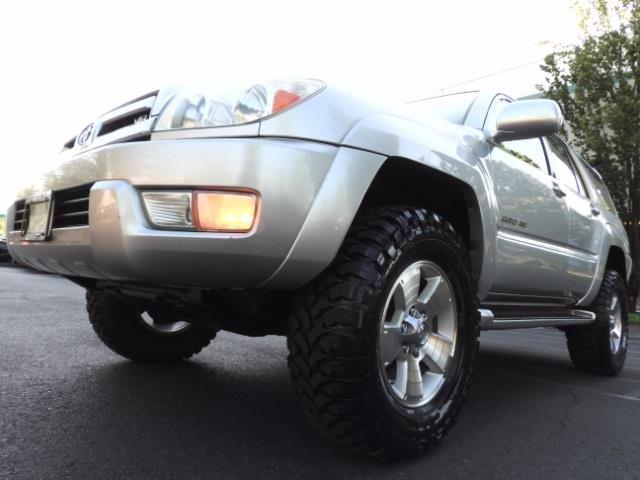 2004 Toyota 4Runner LIMITED Edition 4WD / V8 4.7L / DIFF LOCK / LIFTED - Photo 9 - Portland, OR 97217