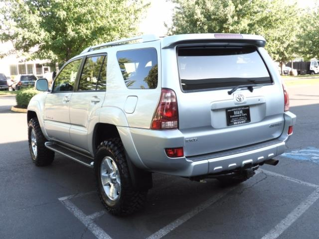 2004 Toyota 4Runner LIMITED Edition 4WD / V8 4.7L / DIFF LOCK / LIFTED - Photo 7 - Portland, OR 97217