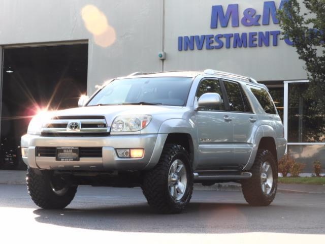 2004 Toyota 4Runner LIMITED Edition 4WD / V8 4.7L / DIFF LOCK / LIFTED - Photo 46 - Portland, OR 97217
