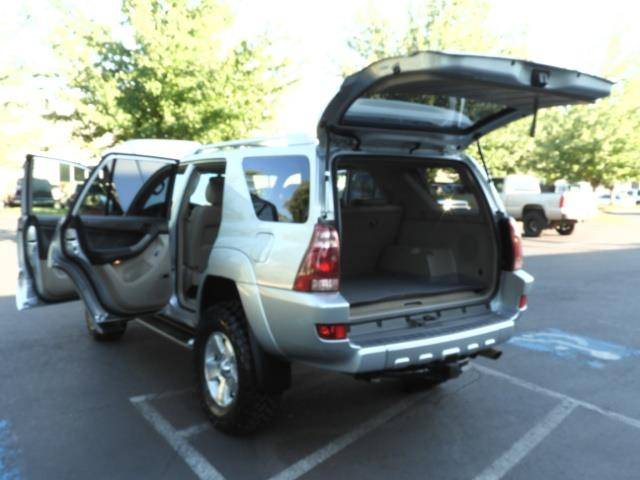 2004 Toyota 4Runner LIMITED Edition 4WD / V8 4.7L / DIFF LOCK / LIFTED - Photo 25 - Portland, OR 97217