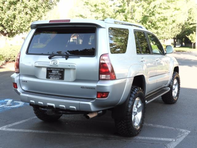2004 Toyota 4Runner LIMITED Edition 4WD / V8 4.7L / DIFF LOCK / LIFTED - Photo 8 - Portland, OR 97217