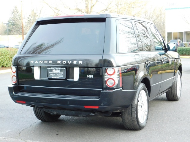 2012 Land Rover Range Rover HSE / 4WD / Sport Utility / 1-OWNER / Excel Cond - Photo 8 - Portland, OR 97217