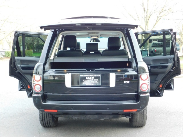 2012 Land Rover Range Rover HSE / 4WD / Sport Utility / 1-OWNER / Excel Cond - Photo 28 - Portland, OR 97217