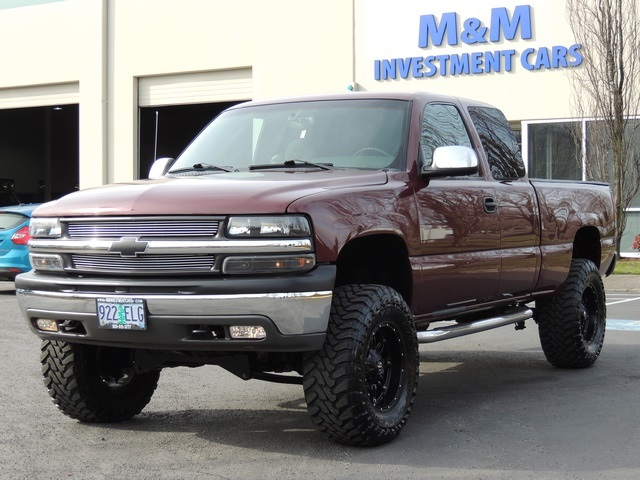 2001 Chevrolet Silverado 1500 Ls 4x4 4 Door Extended Cab Lifted
