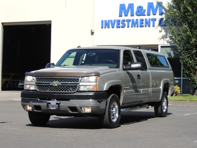 2005 Chevrolet Silverado 2500 LS 4WD Long Bed Matching Canopy 4DR Diesel - Photo 1 - & 2005 Chevrolet Silverado 2500 LS 4WD Long Bed Matching Canopy 4DR Diesel