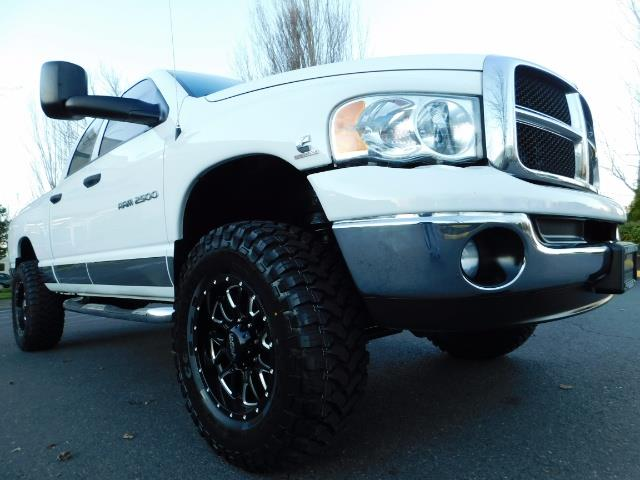 2004 Dodge Ram 2500 Quad Cab 4X4 / 5.9 L CUMMINS DIESEL / 89K MILES - Photo 10 - Portland, OR 97217