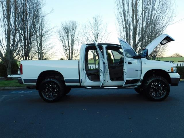 2004 Dodge Ram 2500 Quad Cab 4X4 / 5.9 L CUMMINS DIESEL / 89K MILES - Photo 22 - Portland, OR 97217