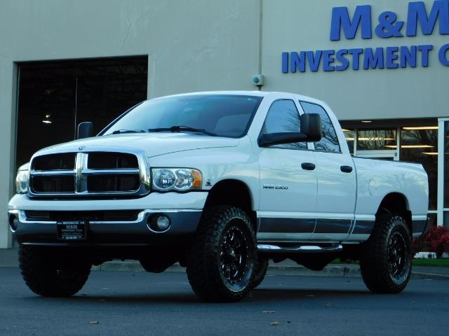2004 Dodge Ram 2500 Quad Cab 4X4 / 5.9 L CUMMINS DIESEL / 89K MILES - Photo 1 - Portland, OR 97217