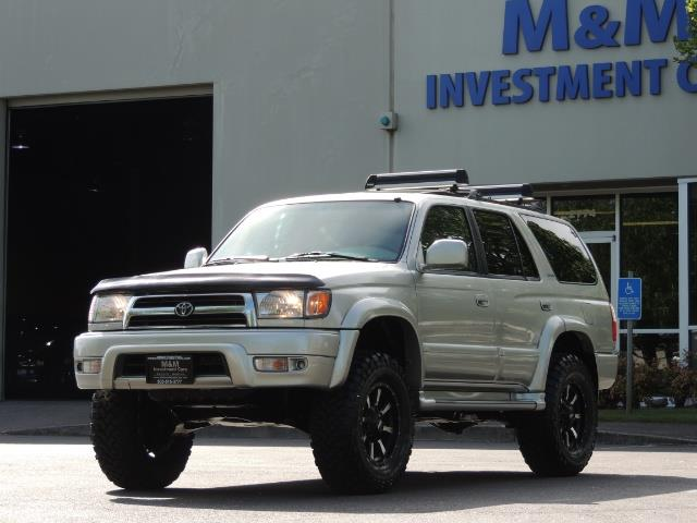 2000 Toyota 4Runner Limited / 4WD / Leather / Rear Diff Lock / LIFTED - Photo 46 - Portland, OR 97217