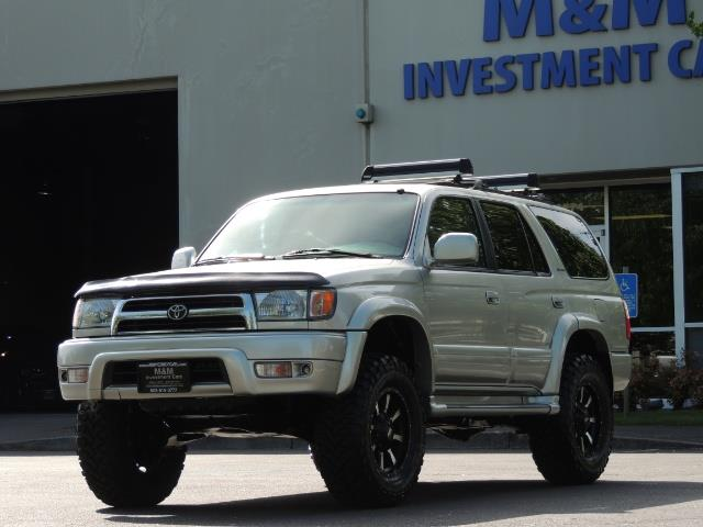 2000 Toyota 4Runner Limited / 4WD / Leather / Rear Diff Lock / LIFTED - Photo 50 - Portland, OR 97217