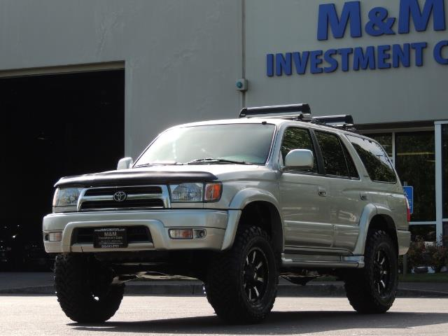 2000 Toyota 4Runner Limited / 4WD / Leather / Rear Diff Lock / LIFTED - Photo 47 - Portland, OR 97217