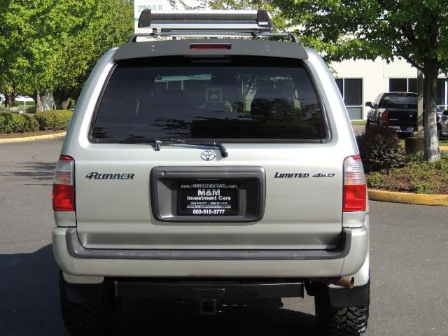 2000 Toyota 4Runner Limited / 4WD / Leather / Rear Diff Lock / LIFTED - Photo 6 - Portland, OR 97217