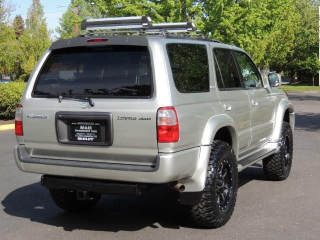 2000 Toyota 4Runner Limited / 4WD / Leather / Rear Diff Lock / LIFTED - Photo 8 - Portland, OR 97217
