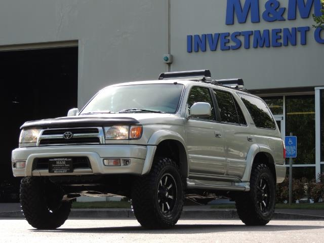 2000 Toyota 4Runner Limited / 4WD / Leather / Rear Diff Lock / LIFTED - Photo 45 - Portland, OR 97217