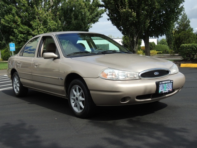 1999 Ford Contour SE Sedan 4 Door Cylinder Automatic Clean Title