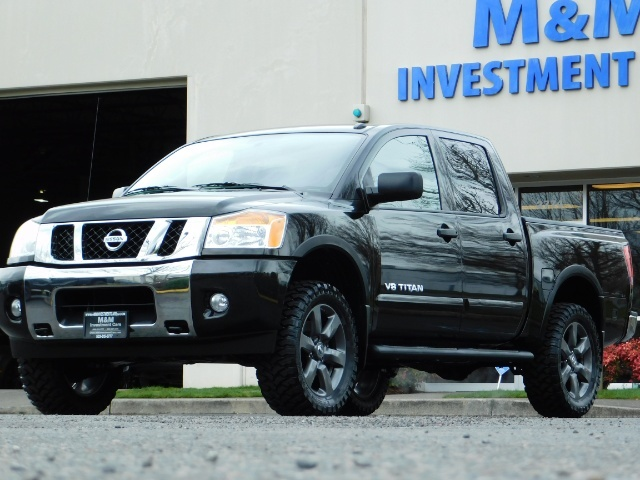 2015 Nissan Titan SV 4Dr Crew Cab / 4WD / Navigation /ONLY 32K MILES - Photo 44 - Portland, OR 97217