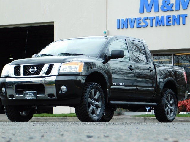 2015 Nissan Titan SV 4Dr Crew Cab / 4WD / Navigation /ONLY 32K MILES - Photo 43 - Portland, OR 97217