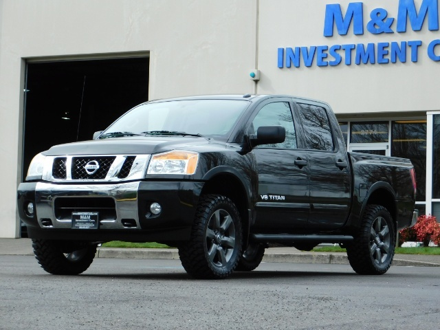 2015 Nissan Titan SV 4Dr Crew Cab / 4WD / Navigation /ONLY 32K MILES - Photo 45 - Portland, OR 97217
