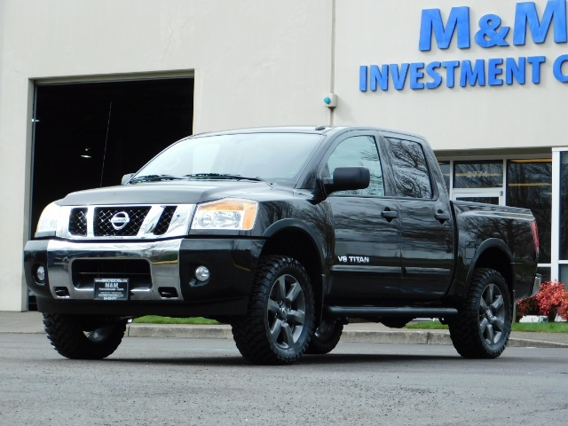 2015 Nissan Titan SV 4Dr Crew Cab / 4WD / Navigation /ONLY 32K MILES - Photo 46 - Portland, OR 97217