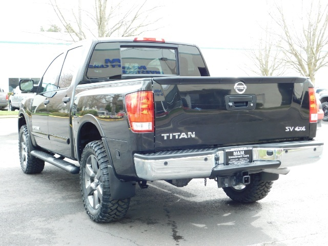 2015 Nissan Titan SV 4Dr Crew Cab / 4WD / Navigation /ONLY 32K MILES - Photo 7 - Portland, OR 97217
