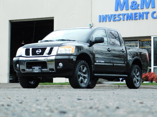 2015 Nissan Titan SV 4Dr Crew Cab / 4WD / Navigation /ONLY 32K MILES - Photo 42 - Portland, OR 97217