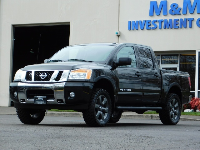 2015 Nissan Titan SV 4Dr Crew Cab / 4WD / Navigation /ONLY 32K MILES - Photo 47 - Portland, OR 97217