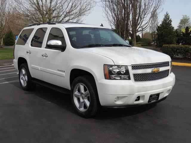2008 Chevrolet Tahoe Ltz 4wd Navigation Sunroof Captain Chairs Photo 2