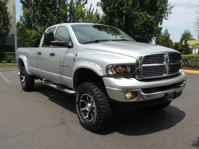 2004 dodge ram 2500 laramie quad cab longbed lifted dvd 4wd diesel 5 9. Black Bedroom Furniture Sets. Home Design Ideas