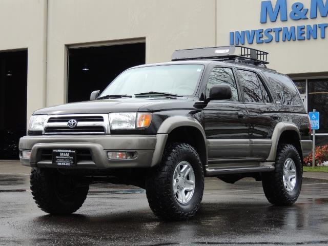 1999 Toyota 4Runner Limited 4WD / V6 / Leather / DIFF LOCK / LIFTED !