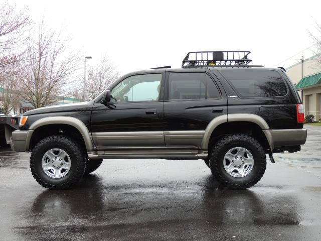 1999 toyota 4runner limited 4wd v6 leather diff lock. Black Bedroom Furniture Sets. Home Design Ideas