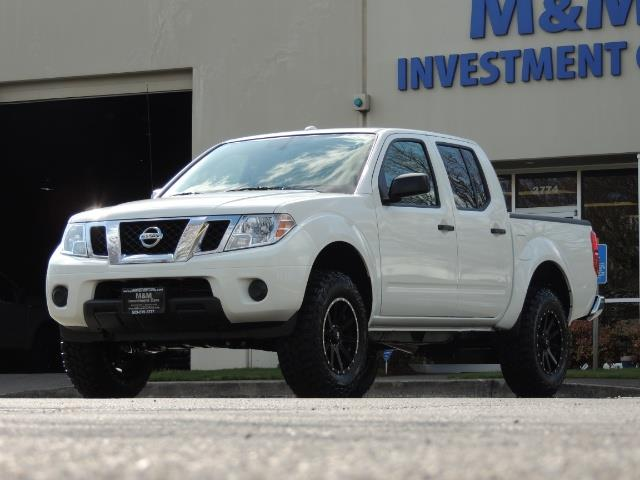 2016 Nissan Frontier SV / 4X4 / Crew Cab / 6Cyl / LIFTED LIFTED - Photo 34 - Portland, OR 97217