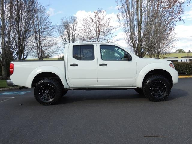 2016 nissan frontier sv 4x4 crew cab 6cyl lifted lifted. Black Bedroom Furniture Sets. Home Design Ideas