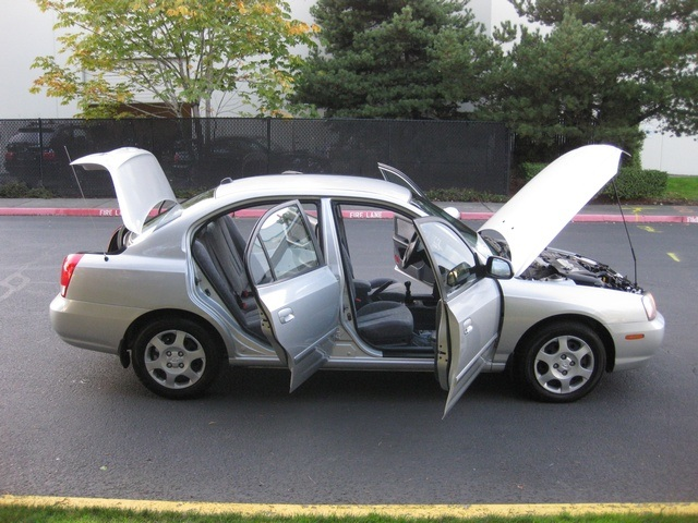 2002 Hyundai Elantra GLS   Photo 14   Portland, OR 97217