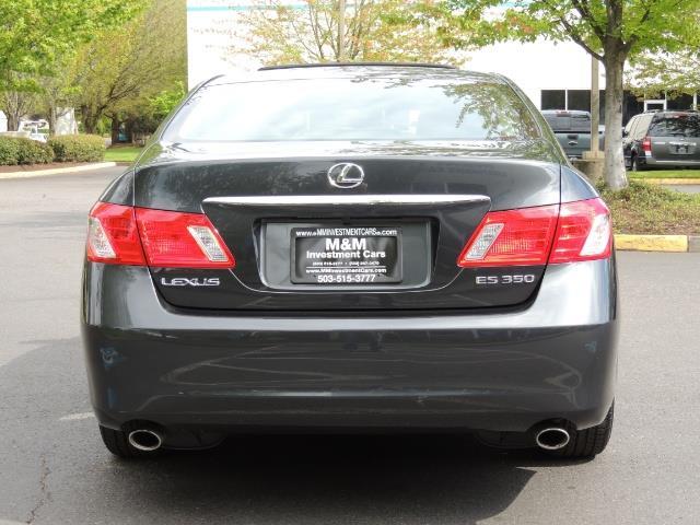 2009 Lexus ES 350 / Luxury Sedan / Navigation / 1-OWNER/ 50K MLS - Photo 6 - Portland, OR 97217