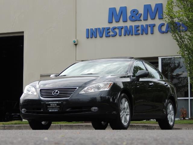 2009 Lexus ES 350 / Luxury Sedan / Navigation / 1-OWNER/ 50K MLS - Photo 52 - Portland, OR 97217