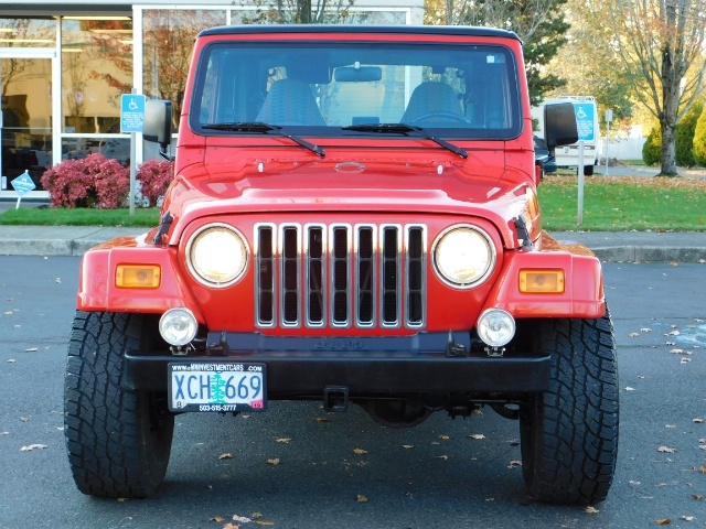 1997 Jeep Wrangler Sport Utility / 4X4 / 6-cyl 4 0 L / AC