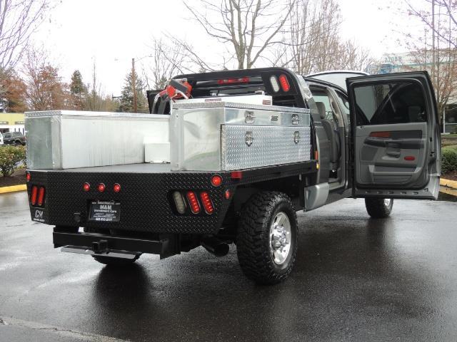 2006 Dodge Ram 2500 SLT 4dr Mega Cab / 4X4 / 5.9L DIESEL / FLAT BED - Photo 28 - Portland, OR 97217