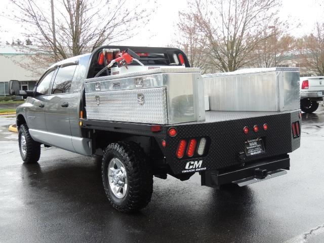 2006 Dodge Ram 2500 SLT 4dr Mega Cab / 4X4 / 5.9L DIESEL / FLAT BED - Photo 58 - Portland, OR 97217