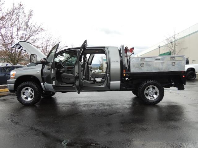 2006 Dodge Ram 2500 SLT 4dr Mega Cab / 4X4 / 5.9L DIESEL / FLAT BED - Photo 12 - Portland, OR 97217